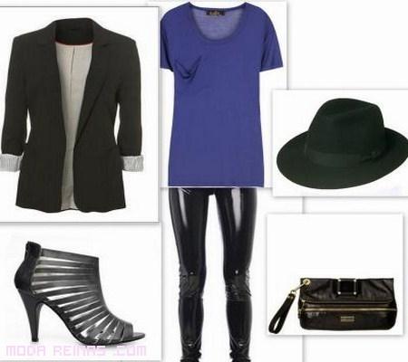 outfit-per-abbinare-leggings-in-vinile-1