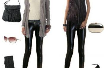 outfit-per-abbinare-leggings-in-vinile