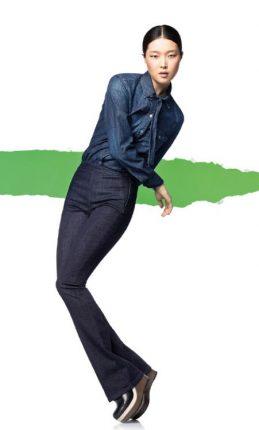 Jeans A Zampa Benetton Autunno Inverno