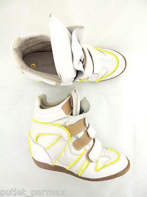 Sneaker Lemarè con zeppa