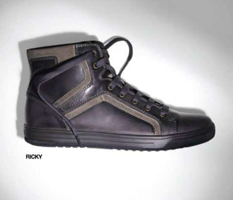 Sneaker Alte In Pelle Geox Inverno