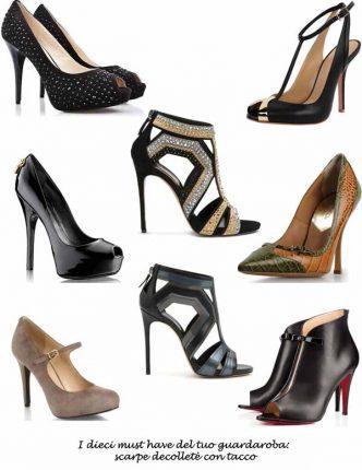 scarpe giuste fascino del tacco