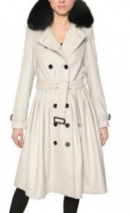 trench-burberry-con-collo-di-pelliccia