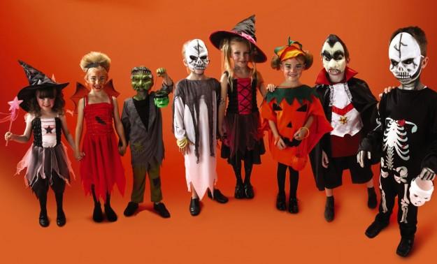 Maschere bambini per Halloween