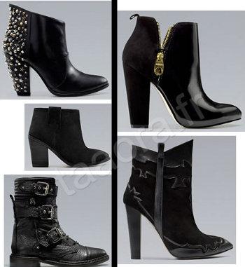 stivali Zara collezione autunno inverno