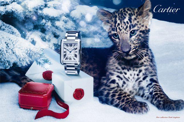 Cartier collezione gioielli Natale 2012