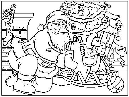 Disegni Di Natale Da Colorare 18