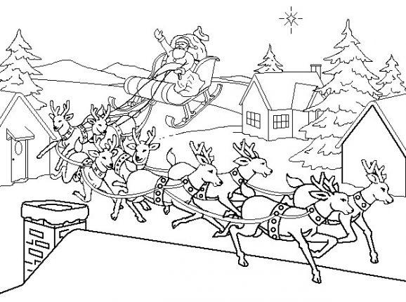 Disegni Di Natale Da Colorare 24