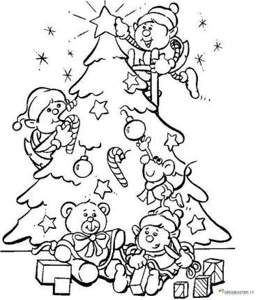 Disegni Di Natale Da Colorare 30