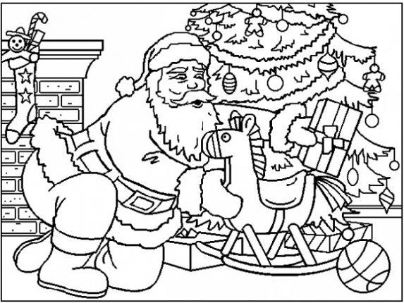 Disegni Di Natale Da Colorare 6