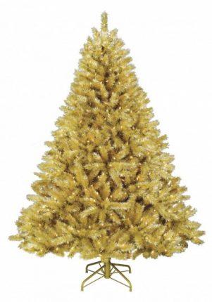 Albero Di Natale Oro