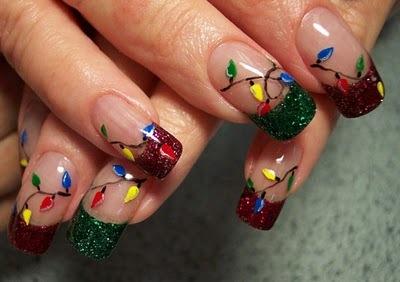 Idee Unghie Natale 2012 2