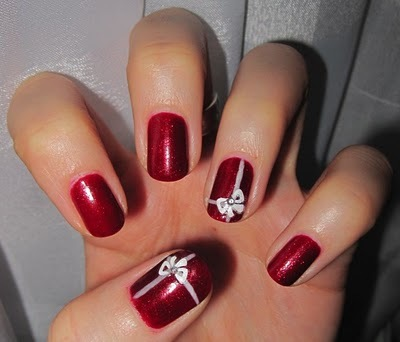 Idee Unghie Natale 2012 3