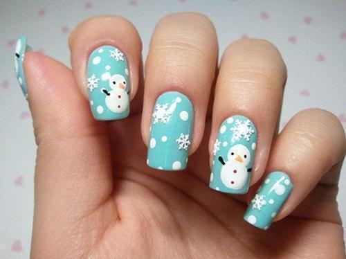 Nail Art Natale 2012 3