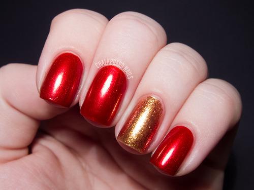 Nail Art Tutorial Natale 2012 1