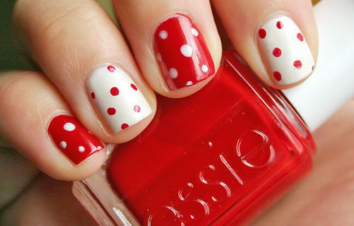 Nail Art Tutorial Natale 2012 2