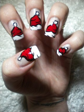 Nail Art Tutorial Natale 2012 3