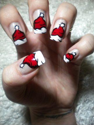 Nail Art Tutorial Natale 2012 3