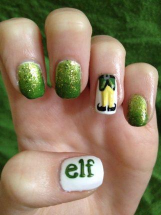 Nail Art Tutorial Natale 2012 7