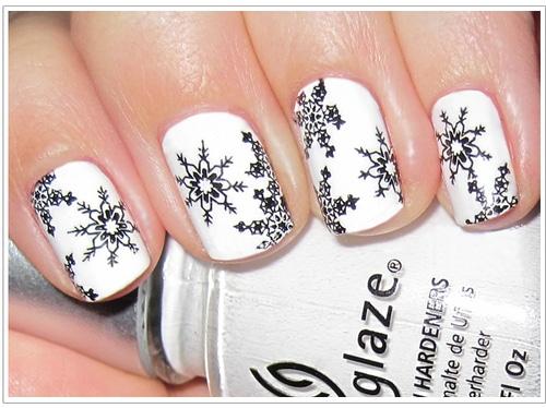 Nail Art Tutorial Natale 2012 8