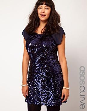 Outfit Plus Size Curvy Natale Capodanno