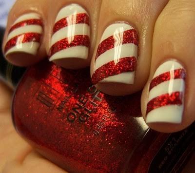 Unghie Nail Art Natale 2012 2