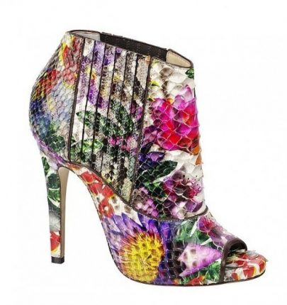 Ankle Boot A Fiori