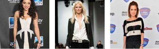 bianco e nero tendenze moda 2013
