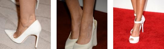 scarpe bianche tendenze moda 2013