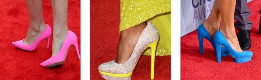 scarpe neon tendenze moda 2013