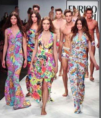 Enrico Coveri abbigliamento primavera estate 2013