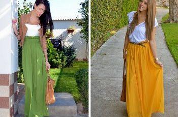 Gonne lunghe alla moda