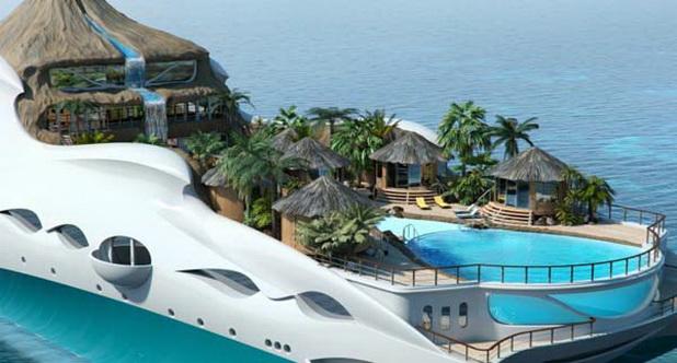 Paradiso tropicale dellisola Paradiso
