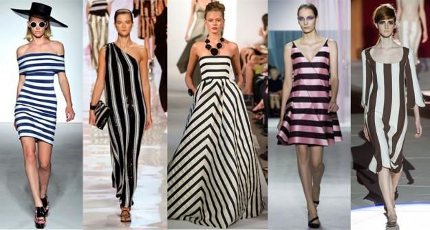 Righe di moda e tendenza 2013