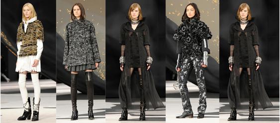 Chanel abbigliamento collezione autunno inverno 2013 2014