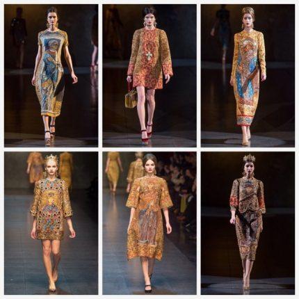 Dolce Gabbana abbigliamento moda autunno inverno 2013 2014