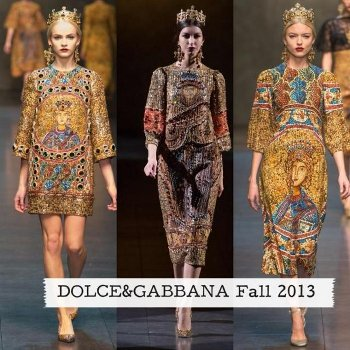 Dolce Gabbana fall winter 2013 2014
