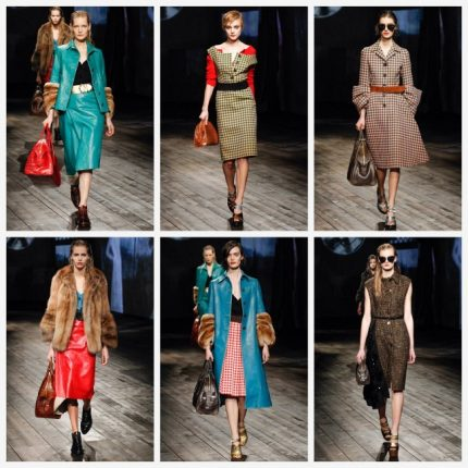 Prada abbigliamento moda autunno inverno 2013 2014