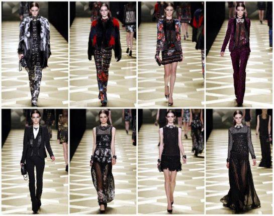 Roberto Cavalli abbigliamento moda autunno inverno 2013 2014