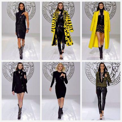 Versace abbigliamento moda autunno inverno 2013 2014
