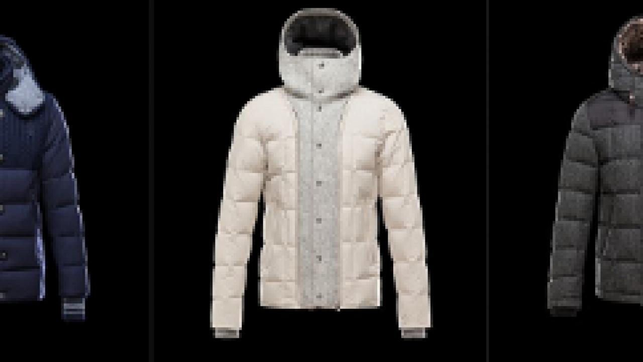 outlet store 66f57 cad5e Nuovi giubbotti e piumini Moncler uomo autunno inverno ...