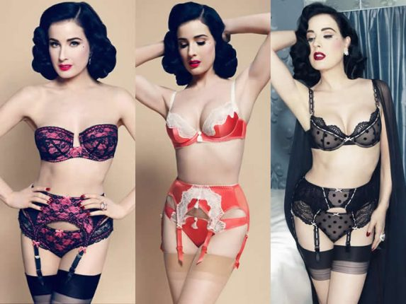 Dita Von Teese collezione intimo e lingerie