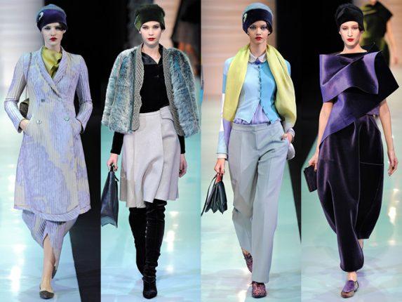 Emporio Armani abbigliamento autunno inverno 2013 2014