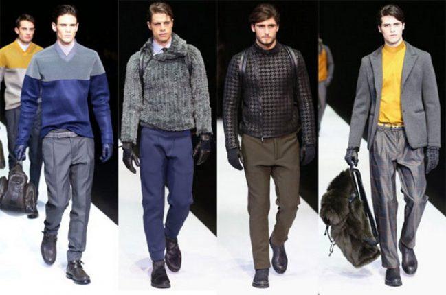 Emporio Armani abbigliamento uomo autunno inverno 2013 2014