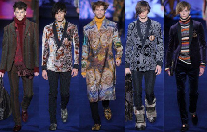 Etro abbigliamento uomo autunno inverno 2013 2014