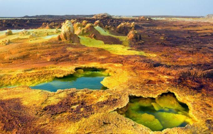 Il Vulcano Dallol Etiopia