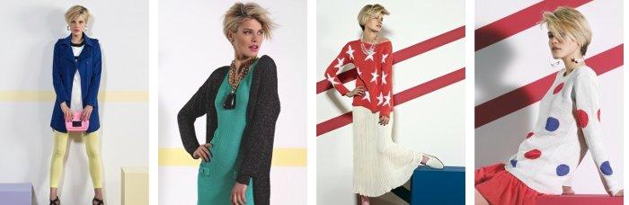 Kontatto abbigliamento moda primavera estate 2013