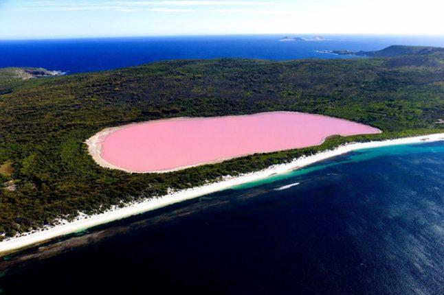 Lago Di Hillier Australia