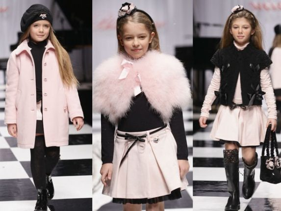 Miss Blumarine bambini autunno inverno