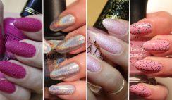 Nail art unghie efetto ruvido